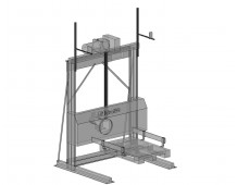 Equipment to work with pallets